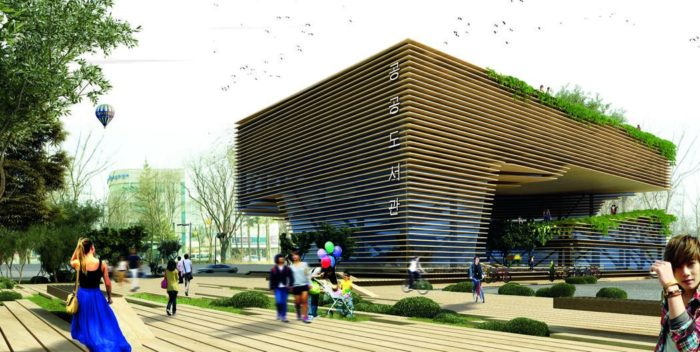 A Shelter For Green Memories | New Wave Architecture