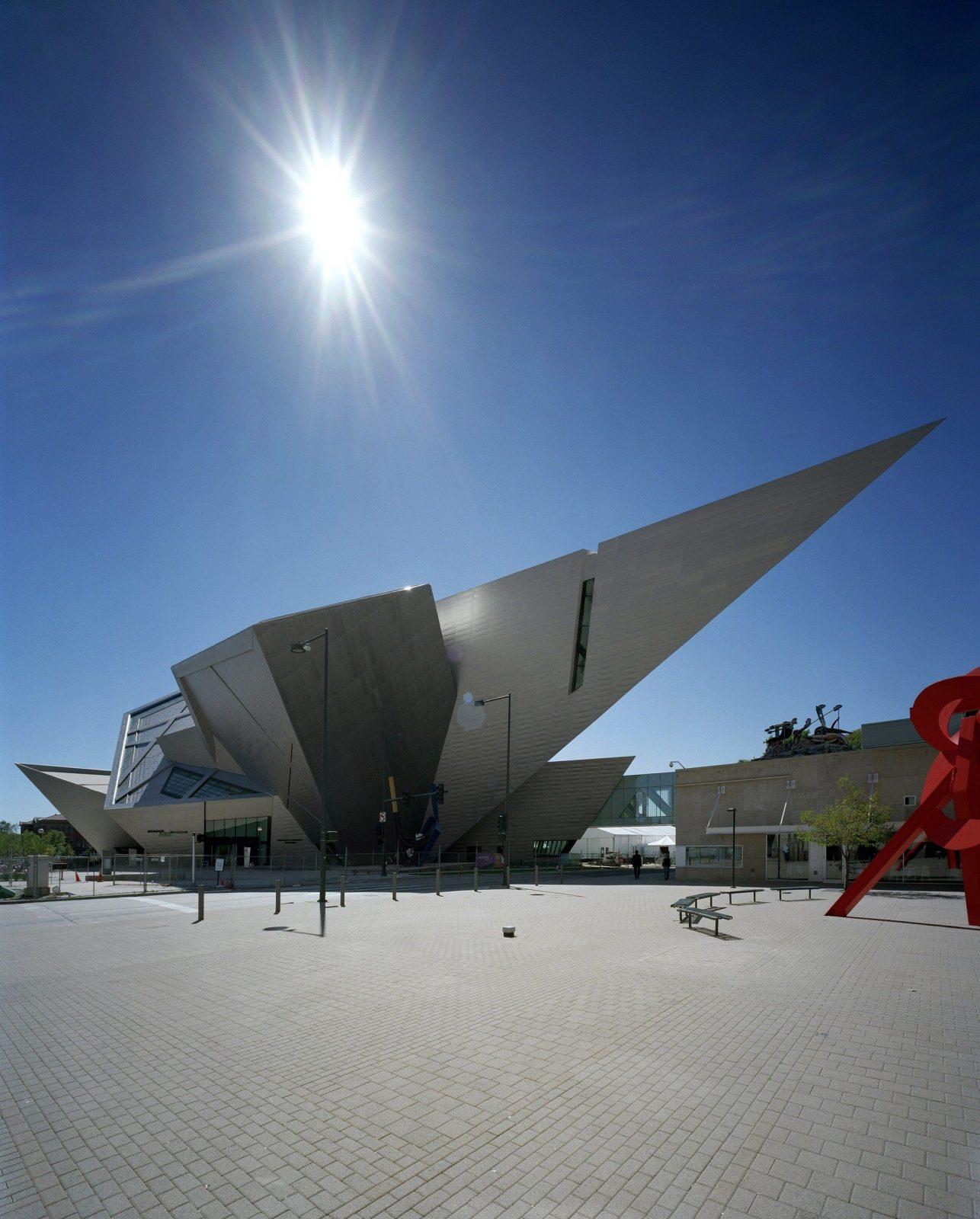 Denver Art Museum Architecture