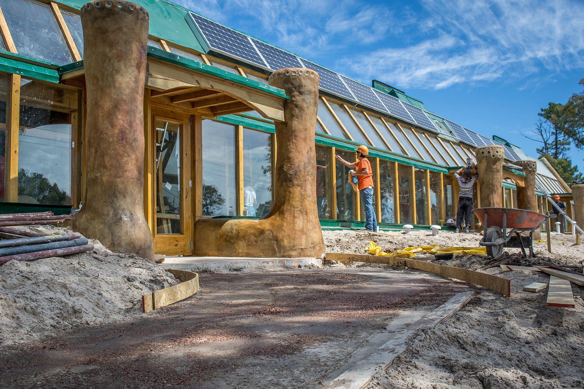 Earthship Homes Michael Reynolds Arch2o Com