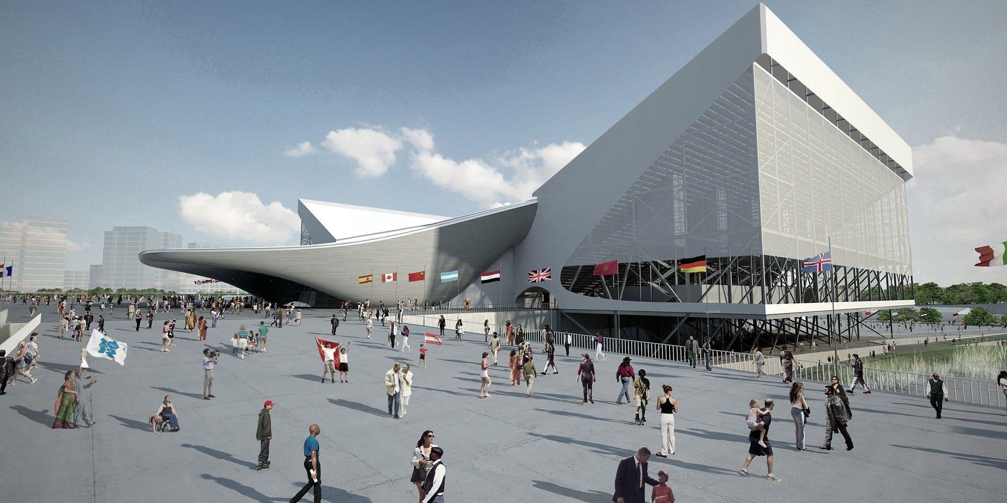 London Aquatics Centre Zaha Hadid Architects Arch2o Com