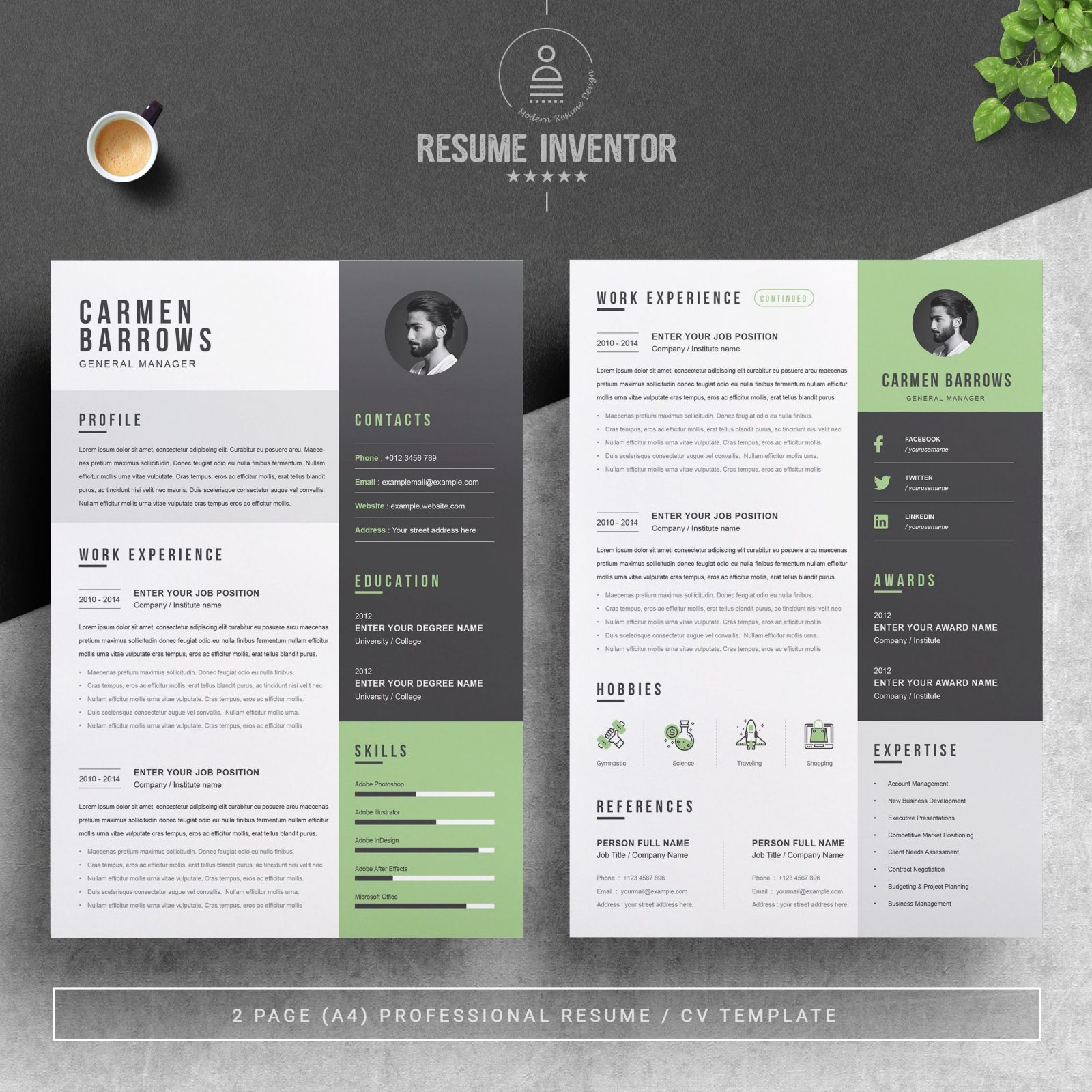 30 best free resume templates for architects  arch2o