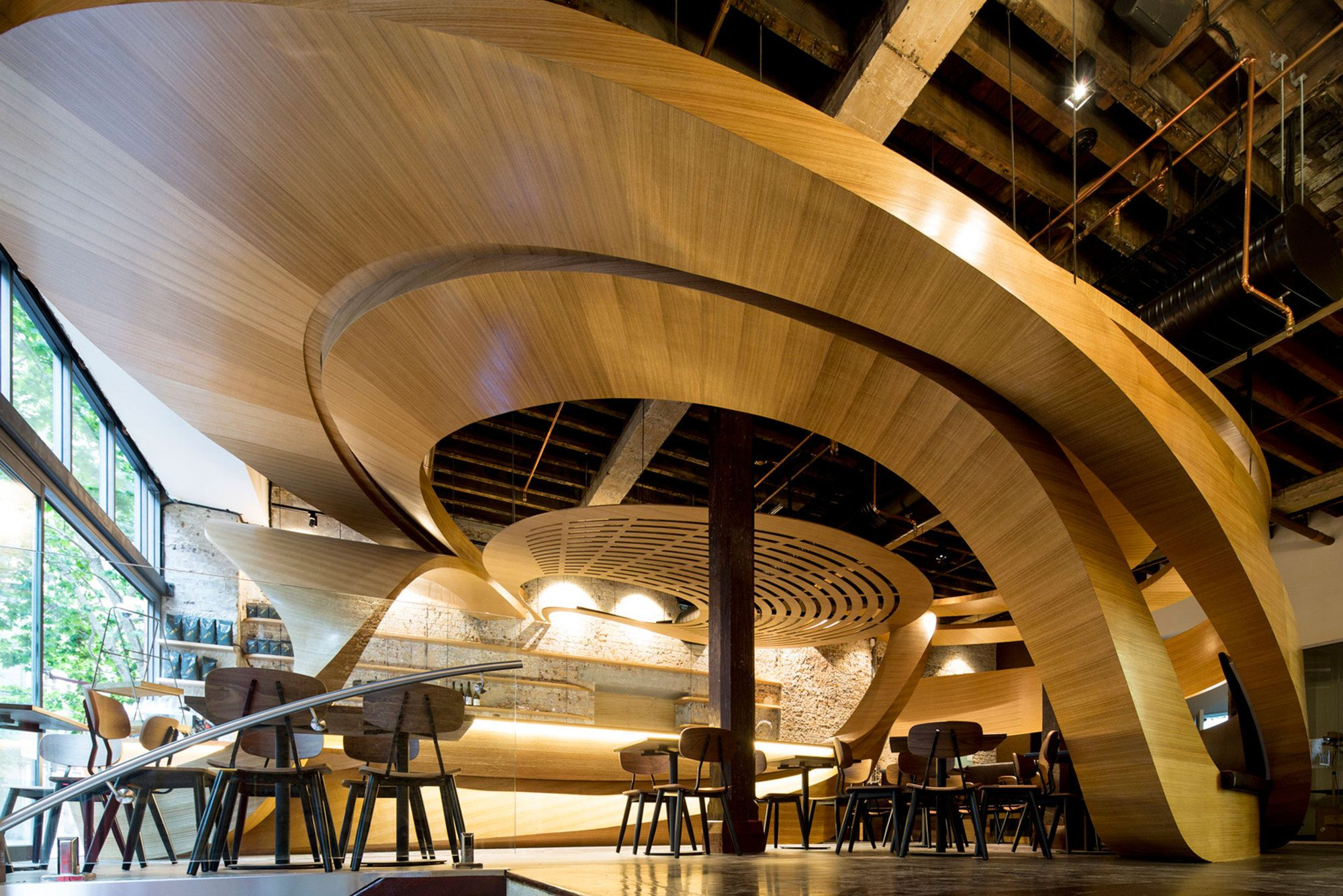 Lot 1 Cafe Bar And Restaurant Enter Projects Arch2o Com