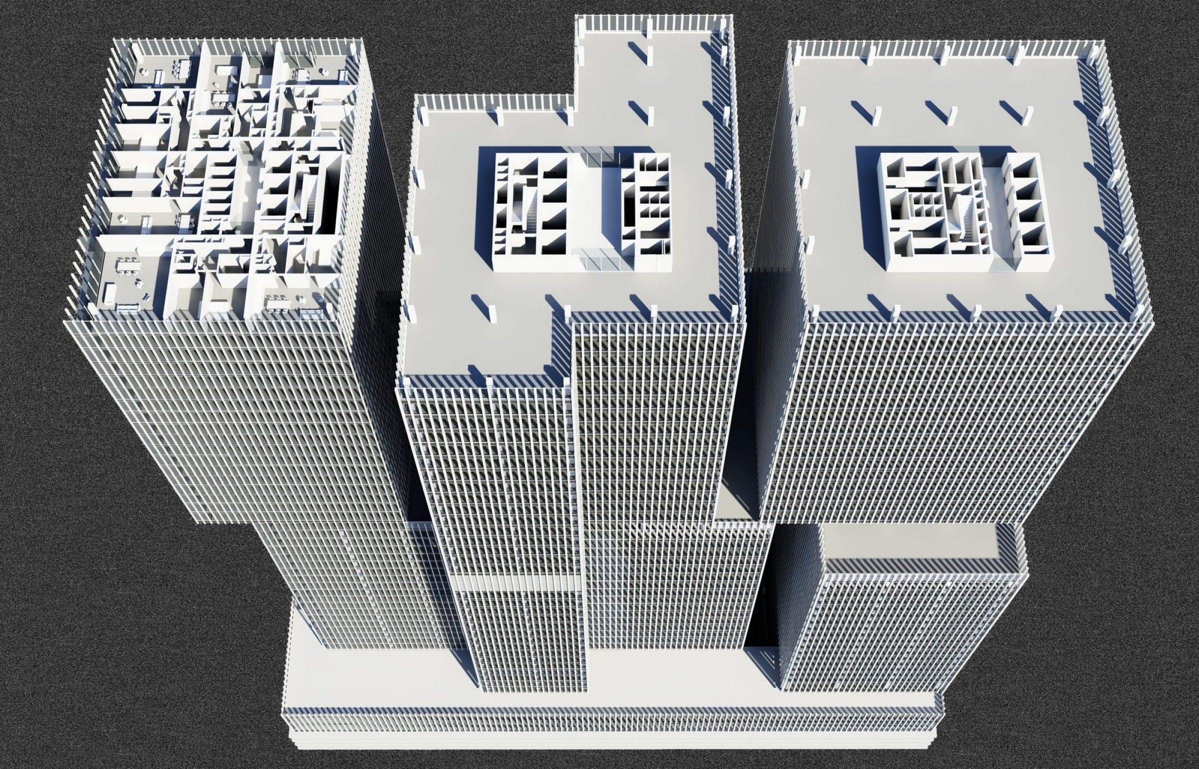 De Rotterdam Oma Architects Arch2o Com