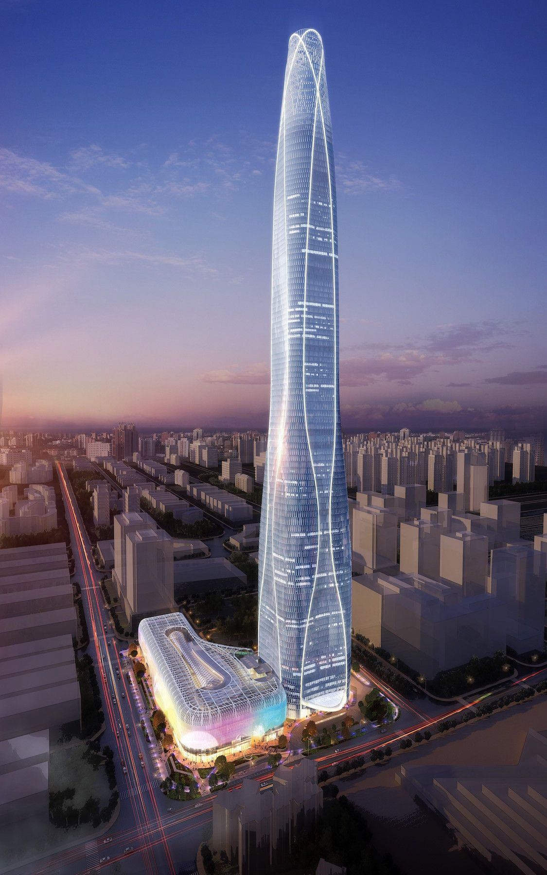 10 Tallest Buildings In The World Completed In 2018 Arch2o Com