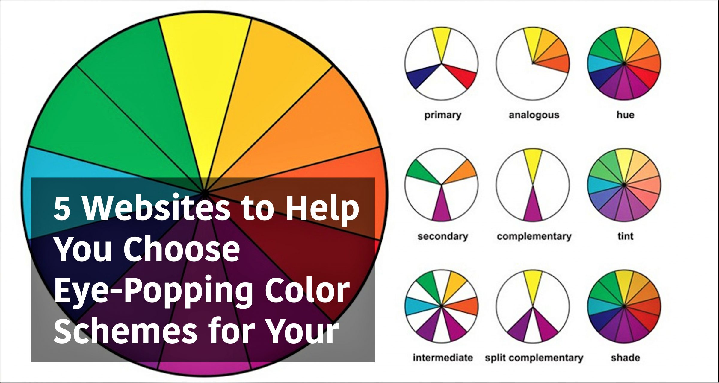 5 Websites To Help You Choose Eye Popping Color Schemes For Your Design Projects Arch2o Com
