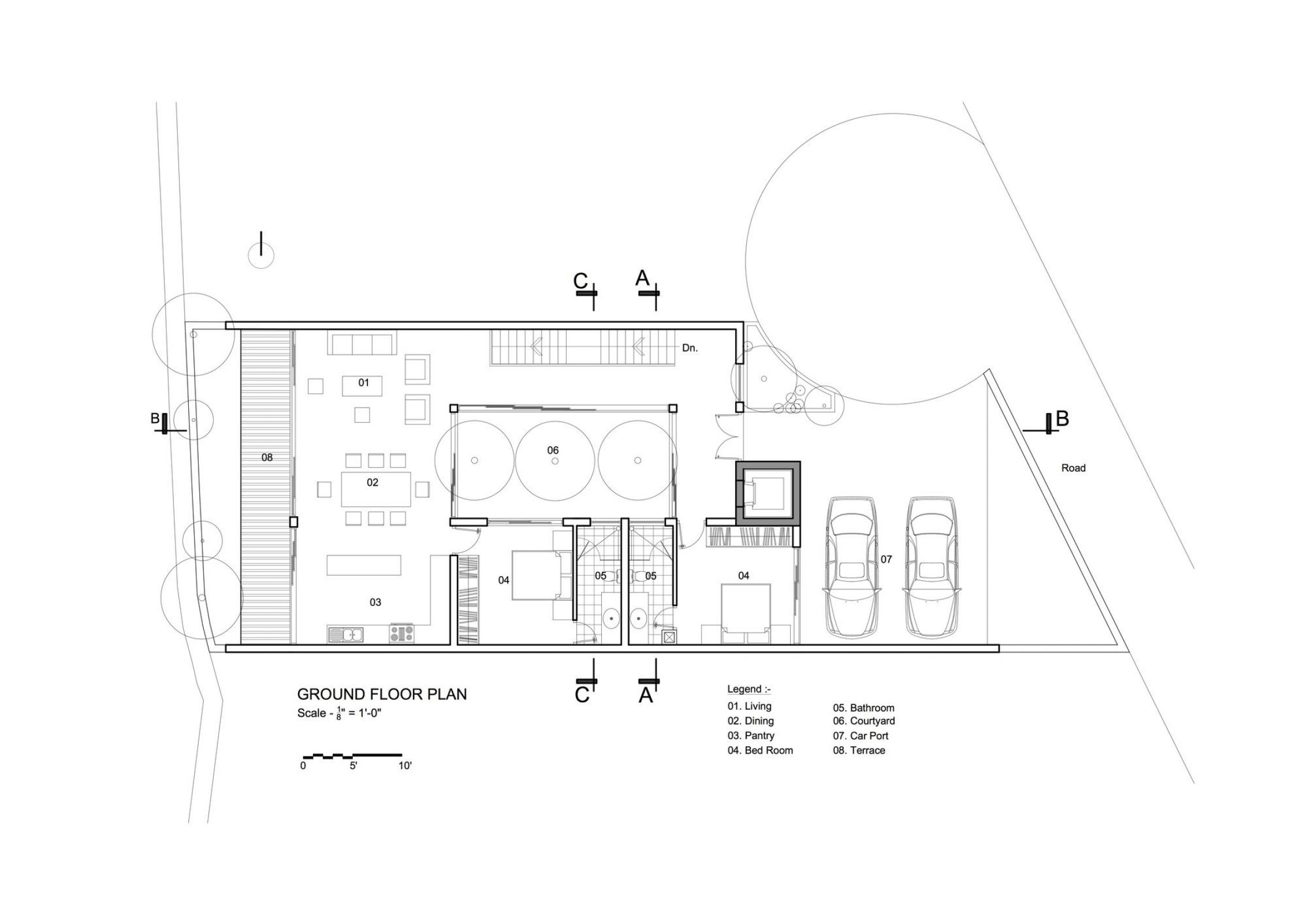 Nestled Hideaway Villa Boutique Hotel Ipa Architects Arch2o Com