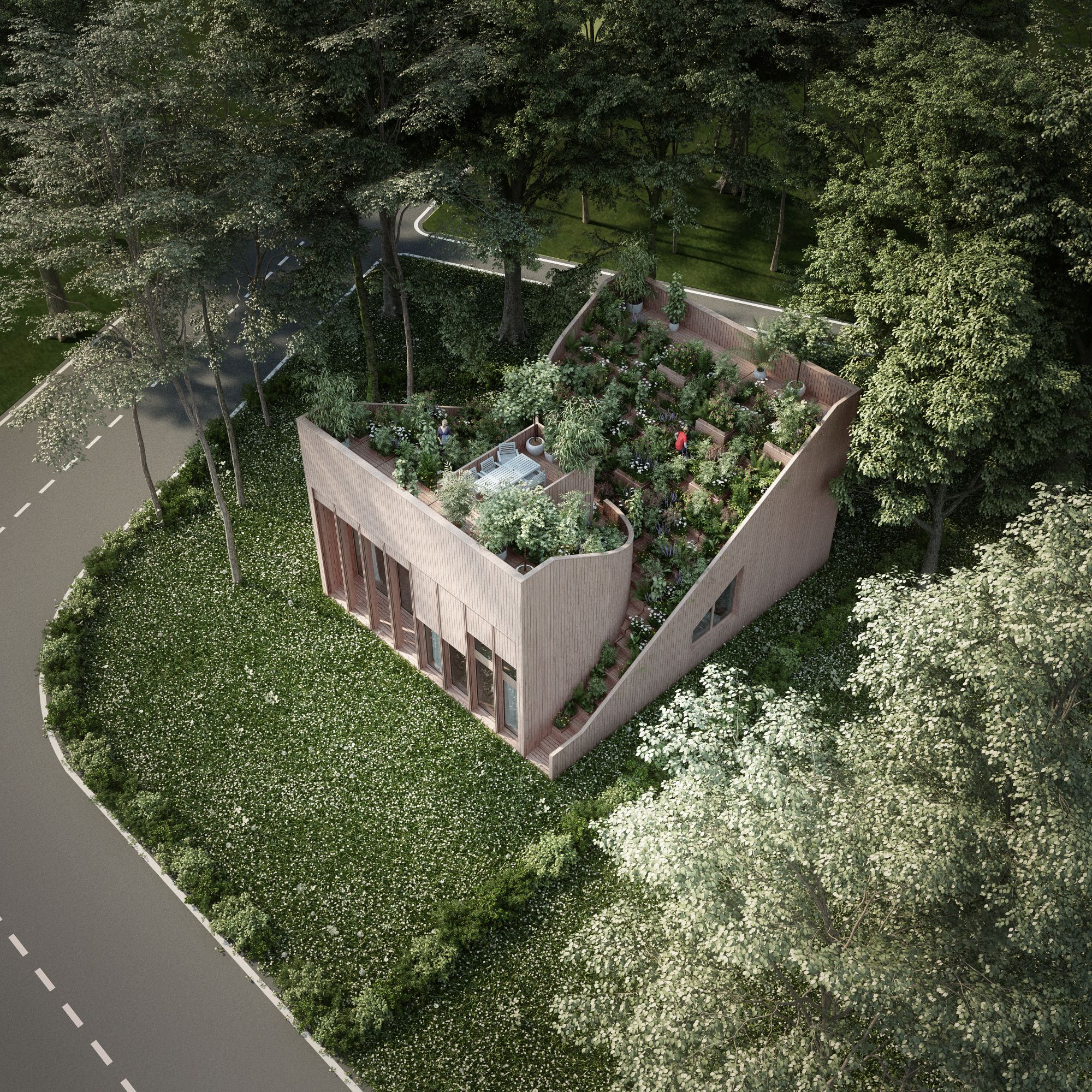 Ying and Yang House: An Off-grid Nature-integrated Residence in Germany - Arch2O.com