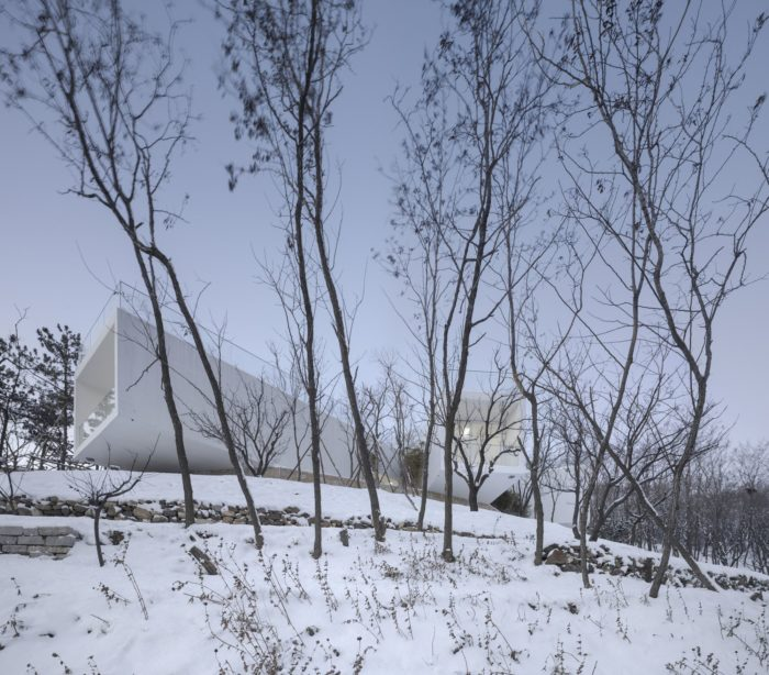 Viewing Pavilion on Hill   TAO – Trace Architecture Office