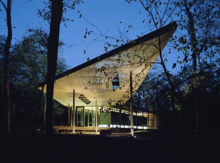 The Ruth Lilly Visitors Pavilion | Marlon Blackwell Architect