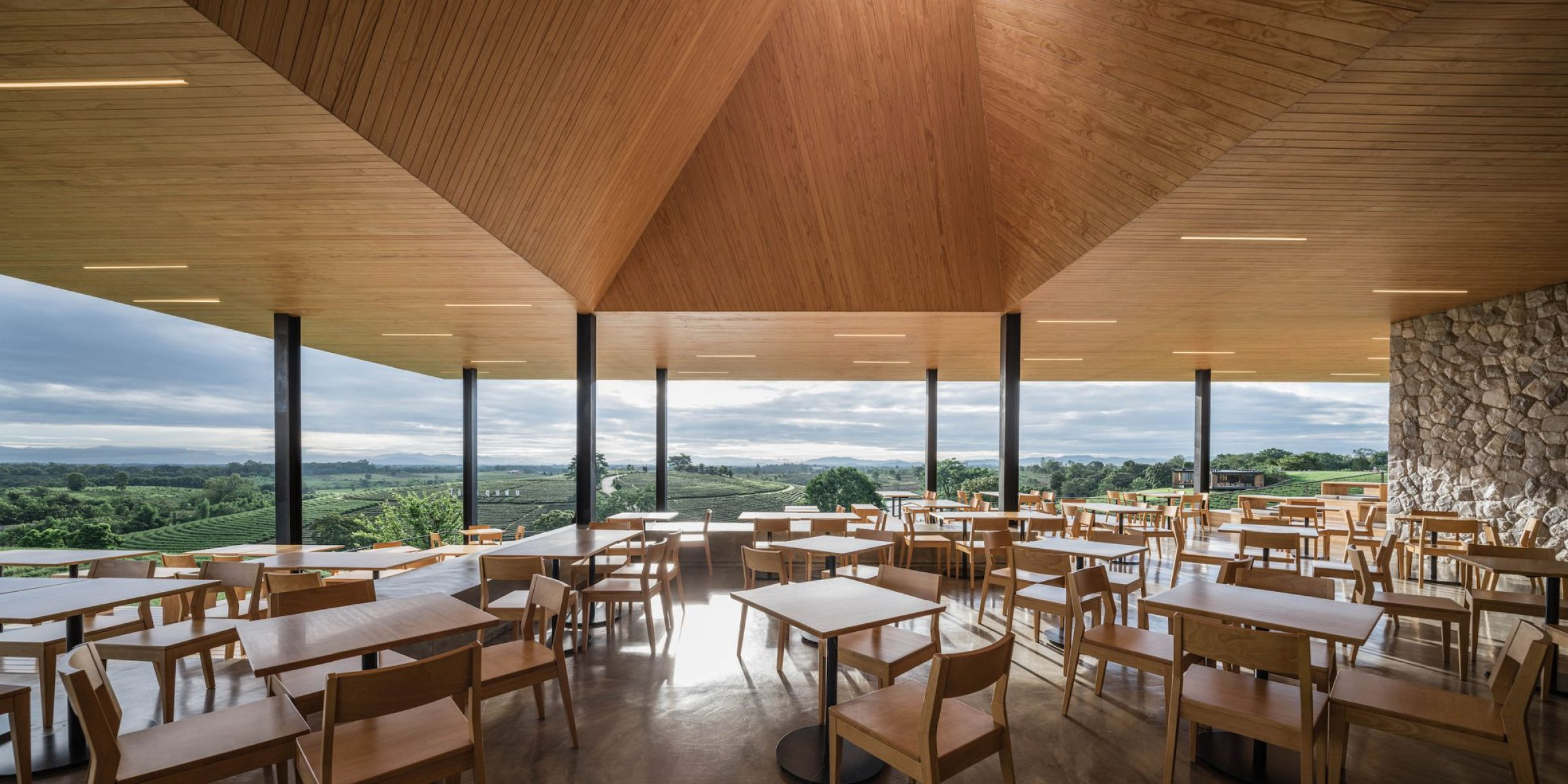 Choui Fong Tea Cafe Idin Architects Arch2o Com
