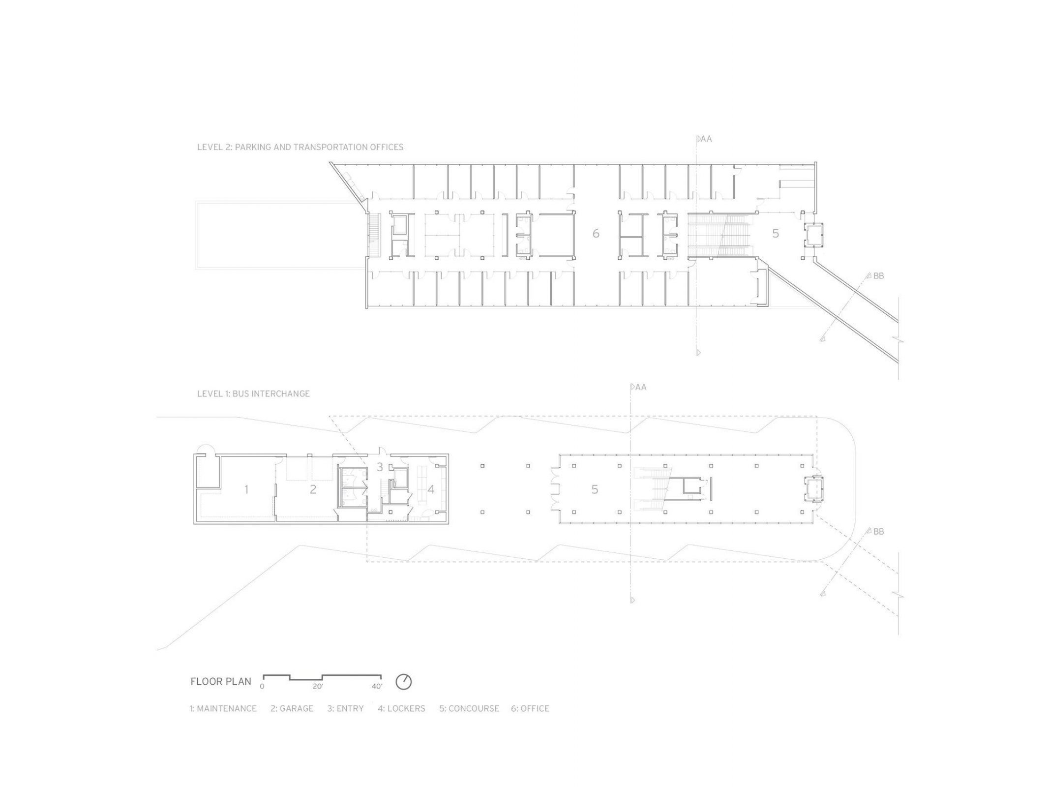 University Of Iowa West Campus Transportation Center Neumann Monson Architects Arch2o Com