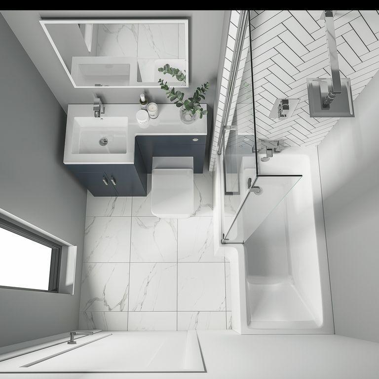 10 Tips To Create Stunning Bathroom, Small Space Bathroom Ideas