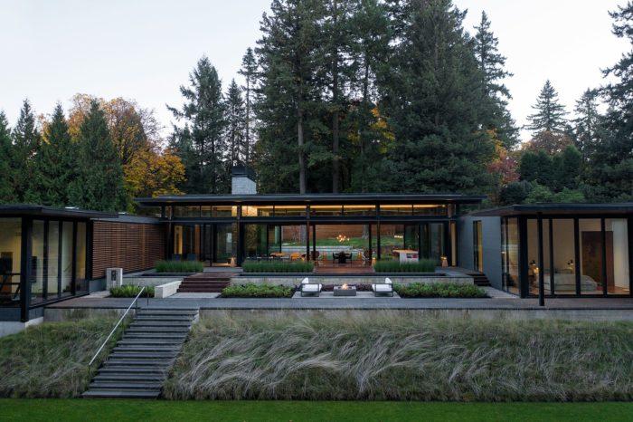 Glass Link House l Scott / Edwards Architecture