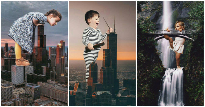 10 Pictures of Massive Architecture Turned Into a Child's Play