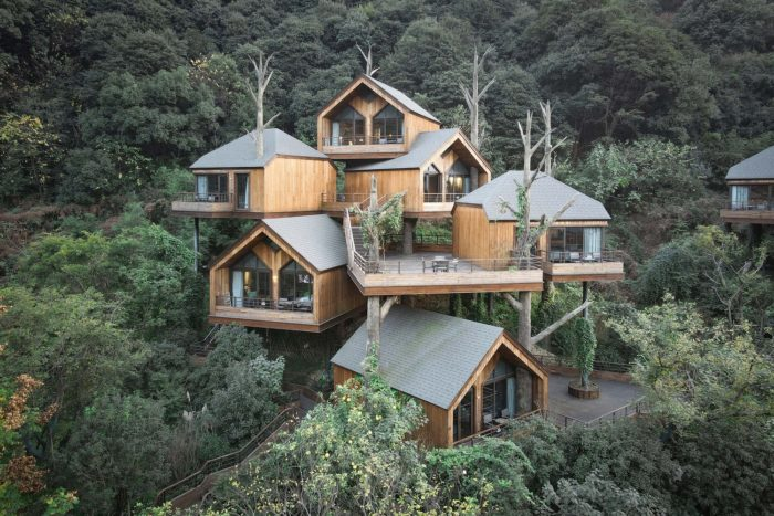 Senbo Resort Hangzhou Tree House   WH studio